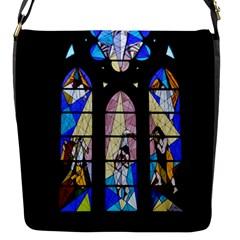 Art Church Window Flap Messenger Bag (s)