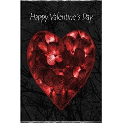 Dark Elegant Valentine Day Poster 5 5  X 8 5  Notebooks by dflcprints
