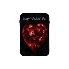 Dark Elegant Valentine Day Poster Apple Ipad Mini Protective Soft Cases by dflcprints