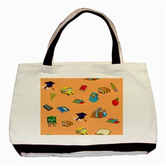 School Rocks! Basic Tote Bag (two Sides) by athenastemple