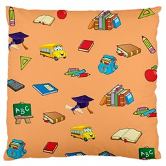 School Rocks! Large Cushion Case (two Sides) by athenastemple