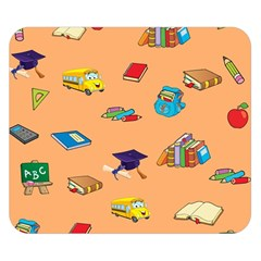 School Rocks! Double Sided Flano Blanket (small)  by athenastemple