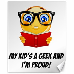 Geek Kid Canvas 11  X 14   by athenastemple