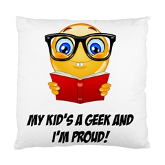 Geek Kid Standard Cushion Case (one Side) by athenastemple