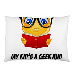 Geek Kid Pillow Case (two Sides) by athenastemple