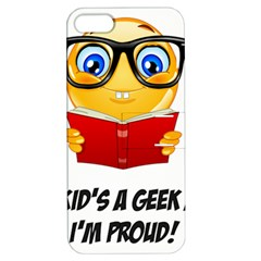 Geek Kid Apple Iphone 5 Hardshell Case With Stand by athenastemple