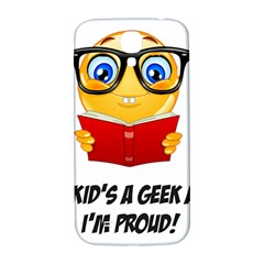 Geek Kid Samsung Galaxy S4 I9500/i9505  Hardshell Back Case by athenastemple