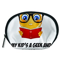 Geek Kid Accessory Pouches (medium)  by athenastemple