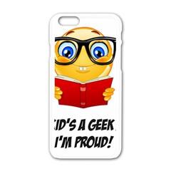 Geek Kid Apple Iphone 6/6s White Enamel Case by athenastemple
