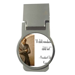 A Child Is Miseducated    Money Clips (round)  by athenastemple