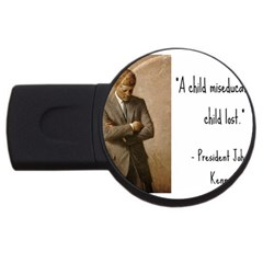 A Child Is Miseducated    Usb Flash Drive Round (4 Gb) by athenastemple