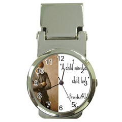 A Child Is Miseducated    Money Clip Watches by athenastemple