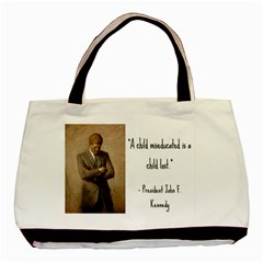 A Child Is Miseducated    Basic Tote Bag by athenastemple