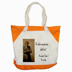 A Child Is Miseducated    Accent Tote Bag by athenastemple
