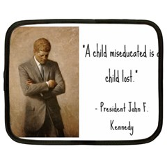 A Child Is Miseducated    Netbook Case (xxl)  by athenastemple