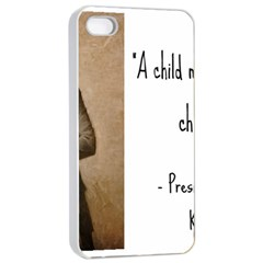 A Child Is Miseducated    Apple Iphone 4/4s Seamless Case (white) by athenastemple