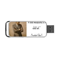A Child Is Miseducated    Portable Usb Flash (two Sides) by athenastemple
