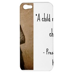 A Child Is Miseducated    Apple Iphone 5 Hardshell Case by athenastemple