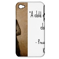 A Child Is Miseducated    Apple Iphone 4/4s Hardshell Case (pc+silicone) by athenastemple