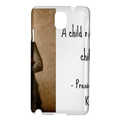 A Child Is Miseducated    Samsung Galaxy Note 3 N9005 Hardshell Case by athenastemple