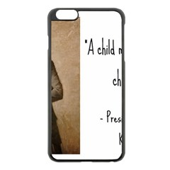 A Child Is Miseducated    Apple Iphone 6 Plus/6s Plus Black Enamel Case by athenastemple