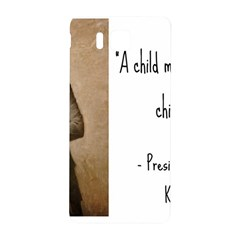 A Child Is Miseducated    Samsung Galaxy Alpha Hardshell Back Case by athenastemple