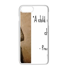 A Child Is Miseducated    Apple Iphone 7 Plus White Seamless Case by athenastemple