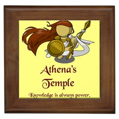 Athena s Temple Framed Tiles by athenastemple