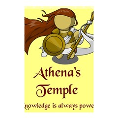Athena s Temple Shower Curtain 48  X 72  (small)  by athenastemple