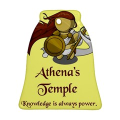 Athena s Temple Ornament (bell) by athenastemple