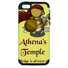 Athena s Temple Apple Iphone 5 Hardshell Case (pc+silicone) by athenastemple