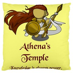 Athena s Temple Standard Flano Cushion Case (one Side) by athenastemple
