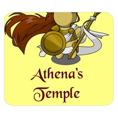 Athena s Temple Double Sided Flano Blanket (small)  by athenastemple