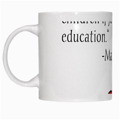 Fruit Of Education White Mugs by athenastemple