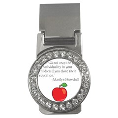 Fruit Of Education Money Clips (cz)  by athenastemple