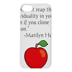 Fruit Of Education Apple Iphone 5s/ Se Hardshell Case by athenastemple