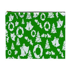 Backdrop Background Card Christmas Cosmetic Bag (xl)