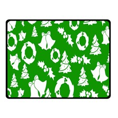 Backdrop Background Card Christmas Fleece Blanket (small)