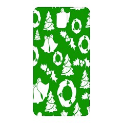Backdrop Background Card Christmas Samsung Galaxy Note 3 N9005 Hardshell Back Case