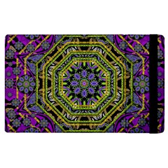 Wonderful Peace Flower Mandala Apple Ipad 3/4 Flip Case by pepitasart