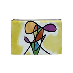 Art Abstract Exhibition Colours Cosmetic Bag (medium)