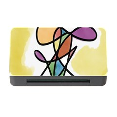 Art Abstract Exhibition Colours Memory Card Reader With Cf