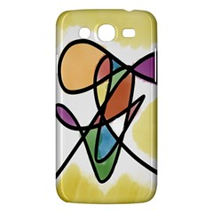 Art Abstract Exhibition Colours Samsung Galaxy Mega 5 8 I9152 Hardshell Case  by Nexatart