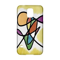 Art Abstract Exhibition Colours Samsung Galaxy S5 Hardshell Case  by Nexatart