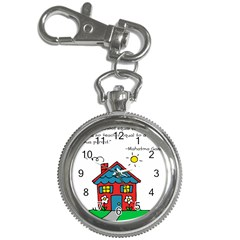 No School Greater    Key Chain Watches by athenastemple