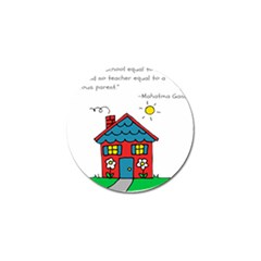 No School Greater    Golf Ball Marker (4 Pack) by athenastemple