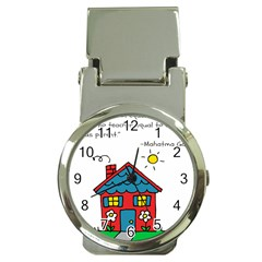 No School Greater    Money Clip Watches by athenastemple
