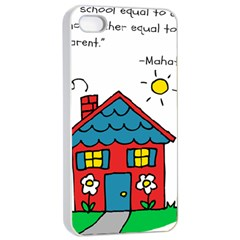 No School Greater    Apple Iphone 4/4s Seamless Case (white) by athenastemple