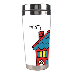 No School Greater    Stainless Steel Travel Tumblers by athenastemple