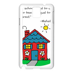 No School Greater    Samsung Galaxy Note 3 N9005 Case (white) by athenastemple